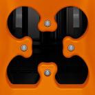 Einfülltrichter mit Kleeblattöffnung