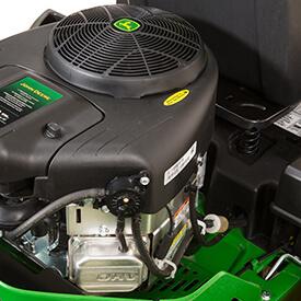 Aufsitzrasenmäher John Deere Z335E Zweizylinder-V-Motor