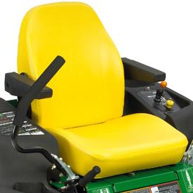 Aufsitzrasenmäher John Deere Z345M Der Sicherheitsschalter befindet sich unter dem Sitz, (Z540R