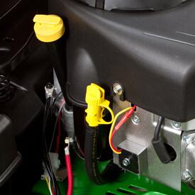 Aufsitzrasenmäher John Deere Z345M Schlauch zum Einfüllen/Nachfüllen von Motoröl sowie Ablassschlauch