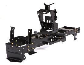 Rasentraktor John Deere X350 hochbeanspruchbarer Rahmen