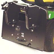 Rasentraktor John Deere X350R Ausgebauter Grasfangbehälter