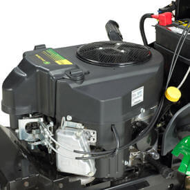 Rasentraktor John Deere X350R Zweizylinder-V-Motor