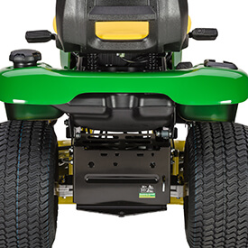 Rasentraktor John Deere X350 Kraftstofftank