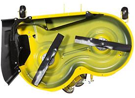 Rasentraktor John Deere X350 Accel Deep™ Mähwerk 42A Unterseite