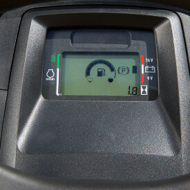 Rasentraktor John Deere X350 Elektronische Kraftstoff-Anzeige