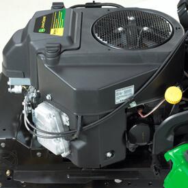 Aufsitzrasenmäher John Deere X380 Zweizylinder-V-Motor mit 13,8 kW bei 3350 U/min