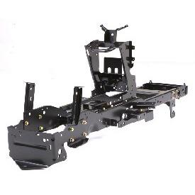 Aufsitzrasenmäher John Deere X584 Robuster, geschweißter Rahmen
