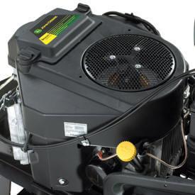 Aufsitzrasenmäher John Deere X584 Zweizylinder-V-Motor