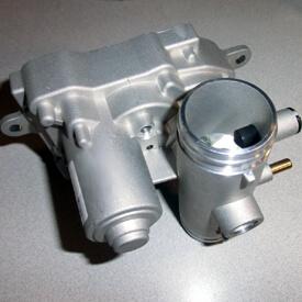 Aufsitzrasenmäher John Deere X590 Elektrisch betätigtes Lufteinlassventil