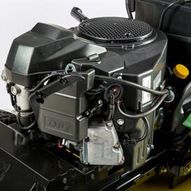 Aufsitzrasenmäher John Deere X590 Zweizylinder-V-Motor mit konstanter Leistung