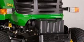 Aufsitzrasenmäher John Deere X950R Batterie