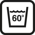 Waschbar bei 60°C