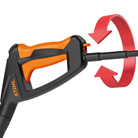 Anti-Drill- und Schnellkupplung