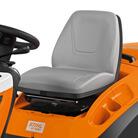 Gefederter und verstellbarer Sitz
