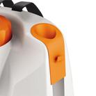 Integrierte Spritzrohrhalterung